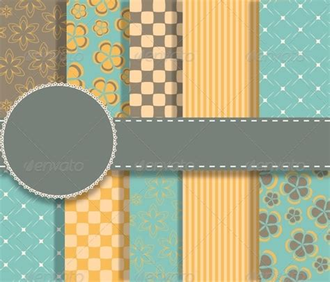 Set Of Vector Paper For Scrapbook By Yganko Graphicriver Microsoft Powerpoint Templates Scrapbook