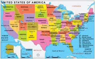 political map of the united states of america usa political map political map of usa political usa