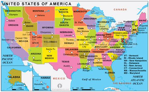 usa map political states silicon valley the destination of it graduates
