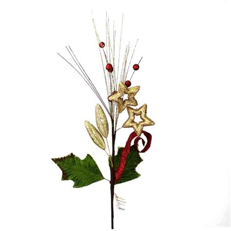christmas floral sprays manufacturer in china