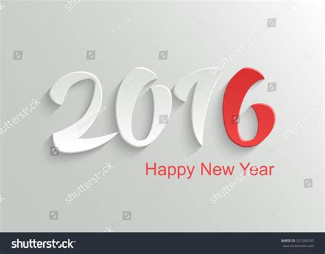 happy new year 2016 template happy new year 2016 vector template background with