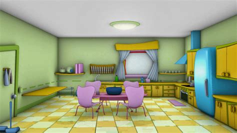 kitchen cartoon cartoon kitchen by catalista on deviantart