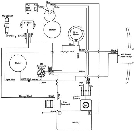 honda gx270 wiring diagram honda gx390 governor adjustment
