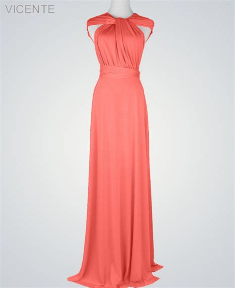 Coral Bridesmaid Dress by 25 Best Ideas About Convertible Bridesmaid Dresses On