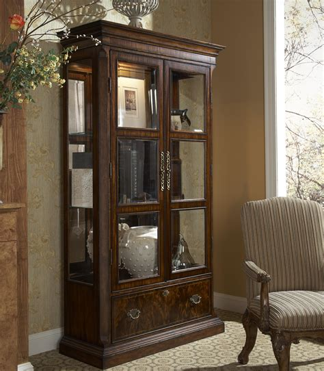 hyde park traditional curio china cabinet by