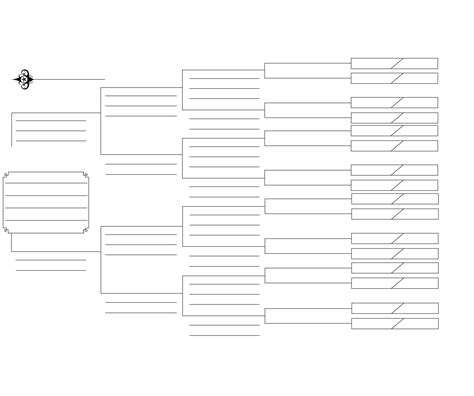 Collection Of 6 Generation Pedigree Chart White Templates Pinterest