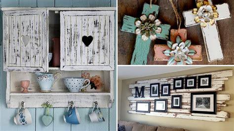 amazing diy rustic wood home decor ideas youtube