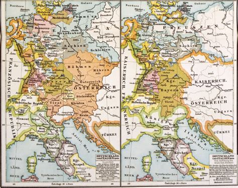 map of italy and germany map of germany and italy 1803 1806 artist artist as