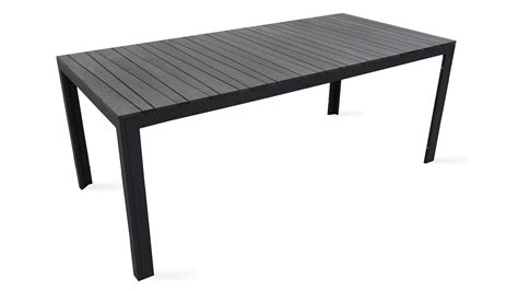 table de jardin 8 places aluminium polywood