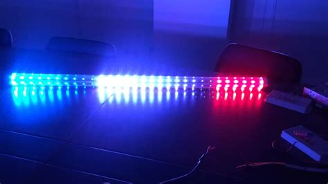 programmable rgb led pixel light bar 1903 for bumper car
