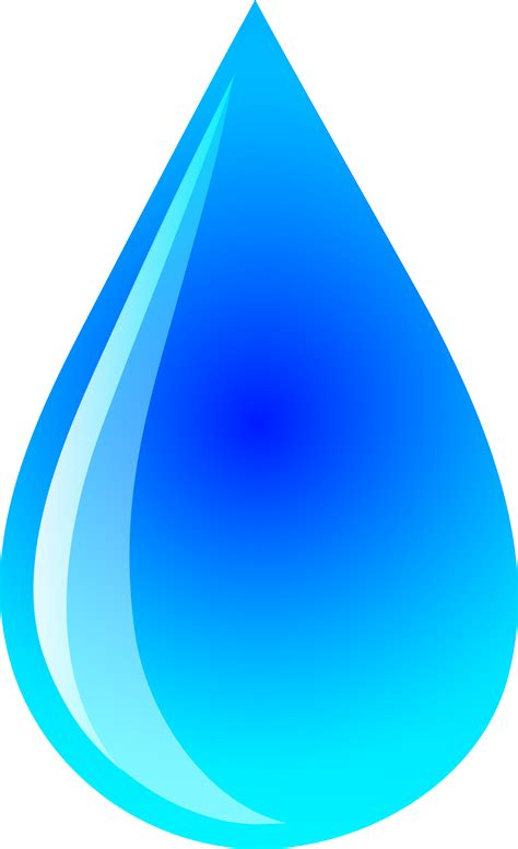 vector clip water droplets clipart teardrop pencil and in color