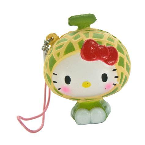 Buku Tulis Hk Sanrio 18x25 jual sanrio hello squishy seri buah buahan gantungan handphone melon harga