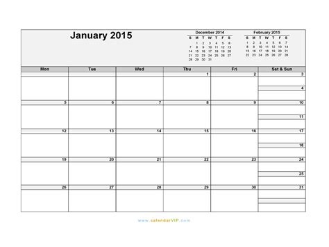 january 2015 day planner printable printable 2015 december calender by month calendar