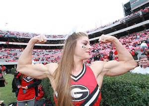 Good Weight For Bench Press This Georgia Cheerleader Has Bigger Biceps Than You