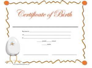 Doll Birth Certificate Template by 15 Birth Certificate Templates Word Pdf Template Lab