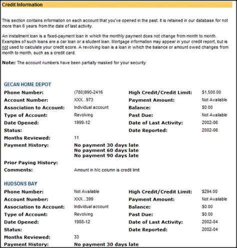 Format Of Credit Information Report Finding Out Your Credit Report And Credit Score