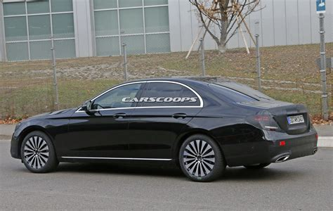 2017 mercedes benz e class sedan spied virtually
