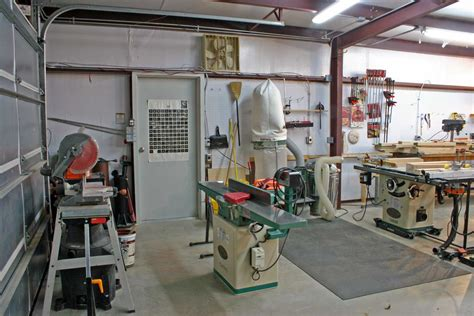 home workshop design layout woodshop