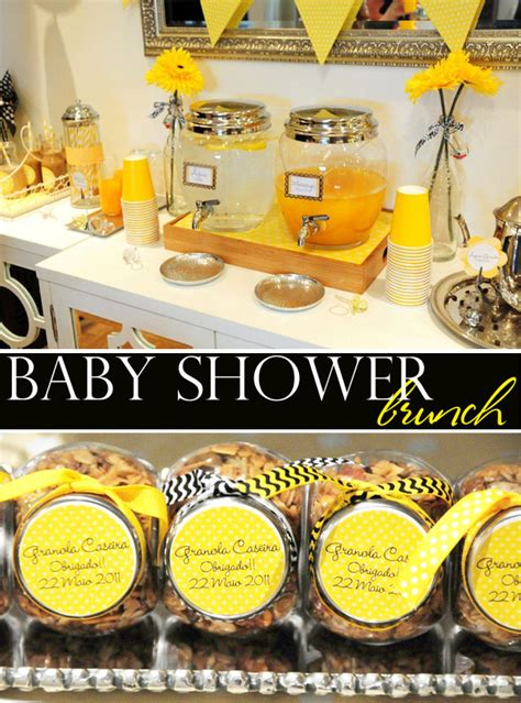 Yellow And White Baby Shower Ideas by Fete Fete Black Yellow White Baby Shower Brunch 1 The