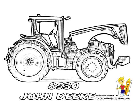 free coloring pages of deer tractors