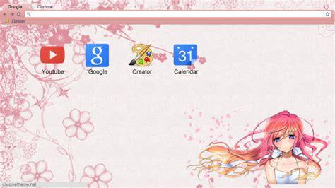 google chrome theme anime gallery anime girl chrome theme by celestiatludenberg on deviantart