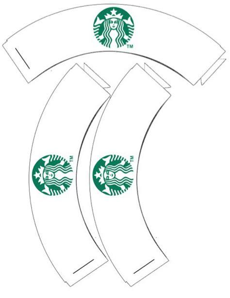 starbucks coffee cup template starbucks cupcake wrappers printable printables