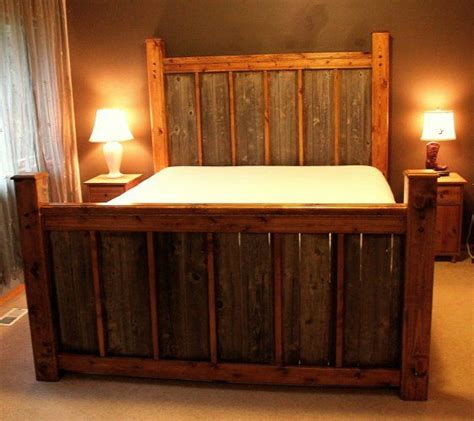 pics of handmade rustic headboards for beds custom