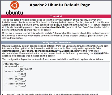 tutorial apache web server ubuntu how to install linux apache mysql php lamp stack on