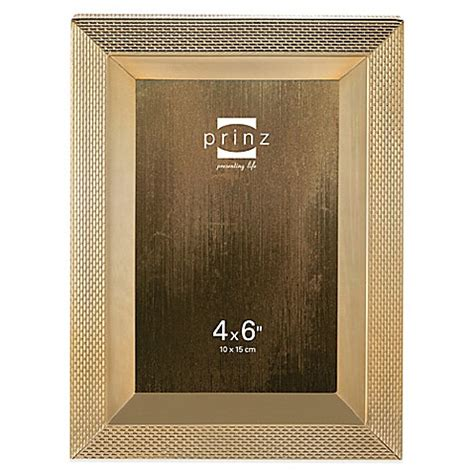 bed bath and beyond clybourn prinz sheridan metal picture frame in gold bed bath beyond