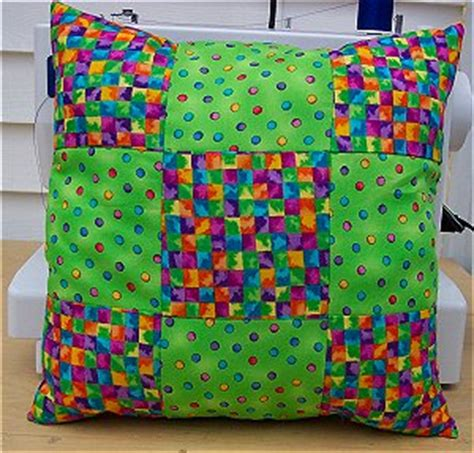 Everyday Celebrations Simple Patchwork Pillows Free Pattern - free pillow pattern to sew how to sew a 9 patch pillow