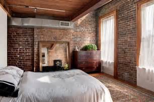 exposed brick bedroom 50 delightful and cozy bedrooms with brick walls