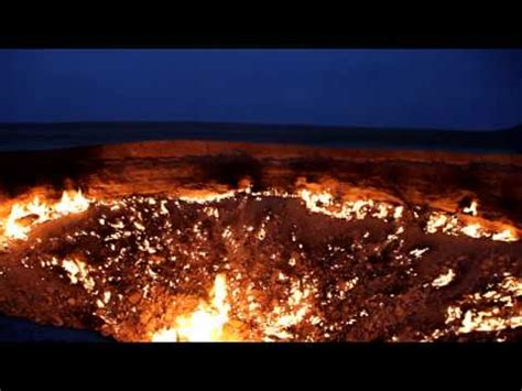 turkmenistan pit door to hell the burning crater of darvaza everything