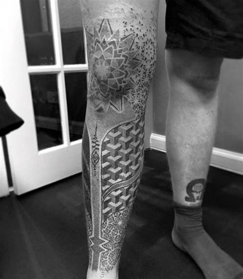 tattoo mandala knie 100 pointillism tattoo designs for men modern dot ideas
