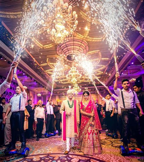 10 dramatic indian wedding entry ideas for couples - Wedding Entry