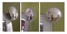 rear view mirror for office desk rear view mirror for your monitor popsugar tech