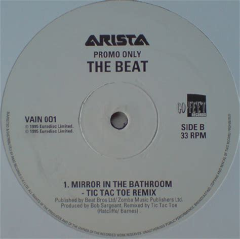 beat mirror in the bathroom mirror in the bathroom discogs