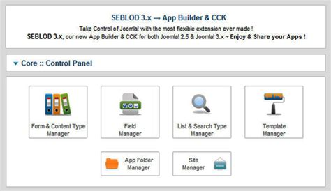 motore di ricerca interno al sito con seblod form per la ricerca avanzata per siti in joomla