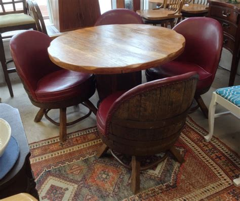 Whiskey Barrel Table And Chairs by Whiskey Barrel Bar Table Beneficial Whiskey Barrel Table
