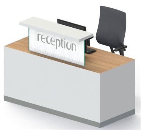 compact reception desk compact reception desk c1 no plinth reality
