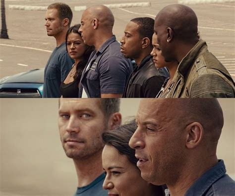 fast and furious f7 paul vfx scenes f7 the fast and the furious pinterest