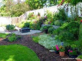 Backyard Flower Gardens Ideas Landscaping Landscaping Ideas For Small Backyards