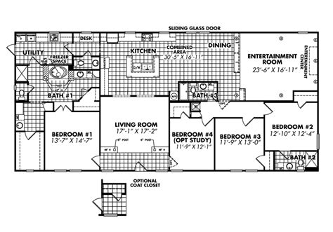 quadruple wide mobile home floor plans double wides floor plans south homes manufactured 552382