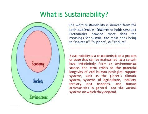 Sustainability Is by What Is Sustainability
