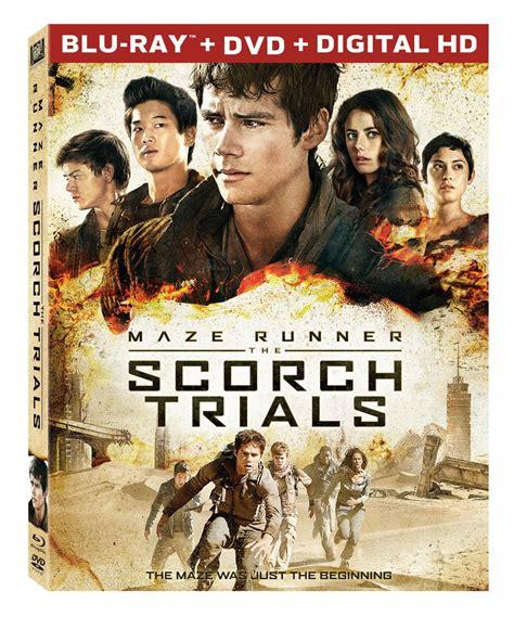 maze runner the scorch trials maze runner the scorch trials on blu ray