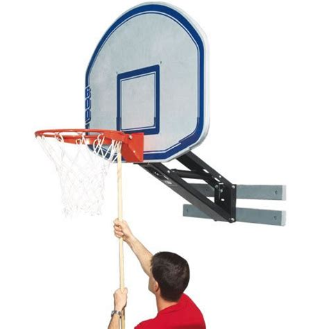 Adjustable Basketball Hoop Garage Mount by Adjustable Wall Mount Basketball Hoops Infobarrel
