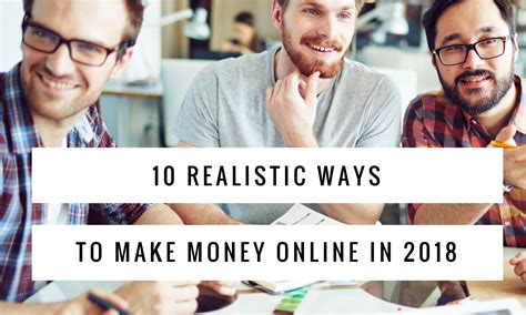 Realistic Ways To Make Money Online - top 10 realistic ways to make money online in 2018 owerly
