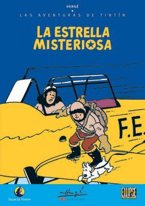 descargar las aventuras de tintin la estrella misteriosa hardback libro las aventuras de tint 237 n la estrella misteriosa dvd video
