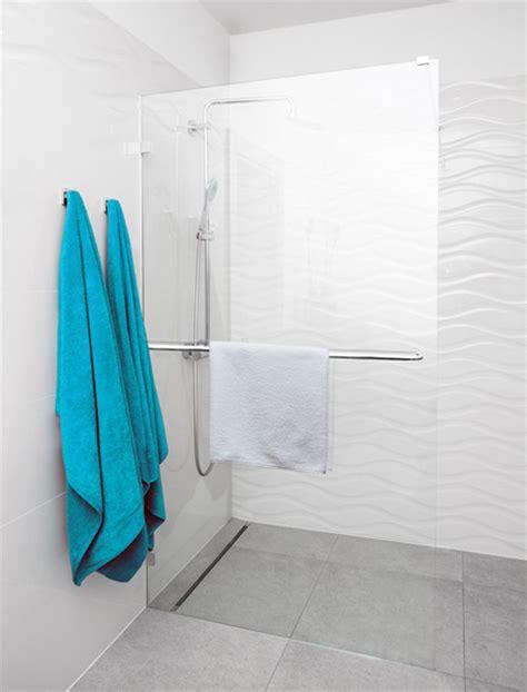 handtuchhalter duschwand duschabtrennung aus glas glasduschen saxoboard net