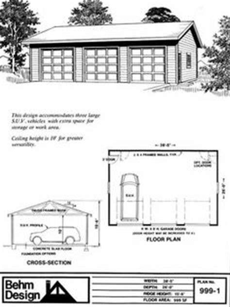 025 oversized 6 car garage oversized 3 bay garage by behm design plan 1080 1 home