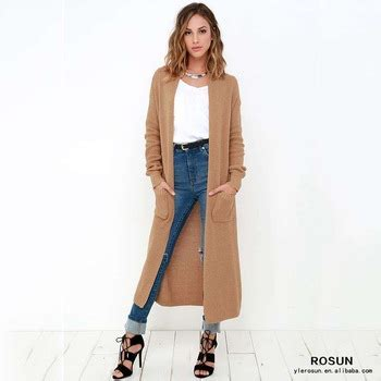 pattern maxi cardigan long sleeve brown winter knit pattern maxi cardigan buy
